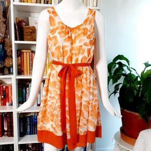🔥3/30$ Elle Splatter Chiffon Dress